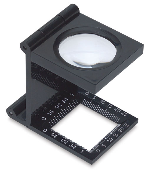 Folded-up Magnifier, 5X Magnification
