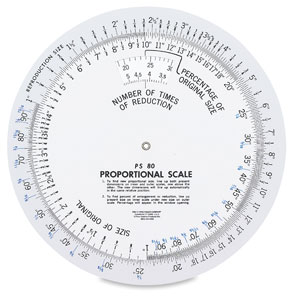 """Proportional Scale, 8¼"""""""