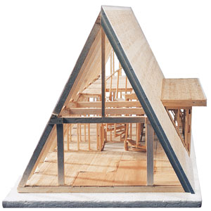 Midwest Products A Frame Cabin Kit BLICK art materials