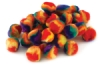 Rainbow Poms, Pack of 100