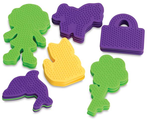 Small Novelty Shapes Pegboard Assortment