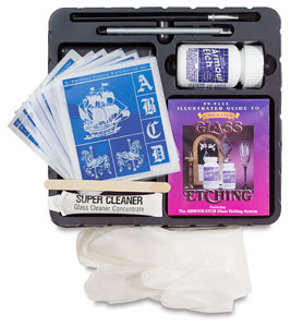 Armour Etch Kit (Stencils featured may vary)