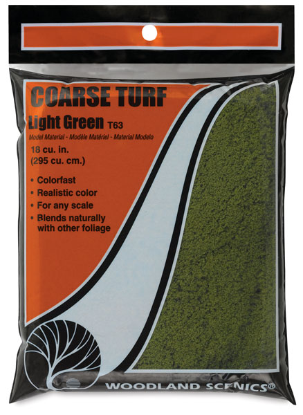 Coarse Turf, Light Green