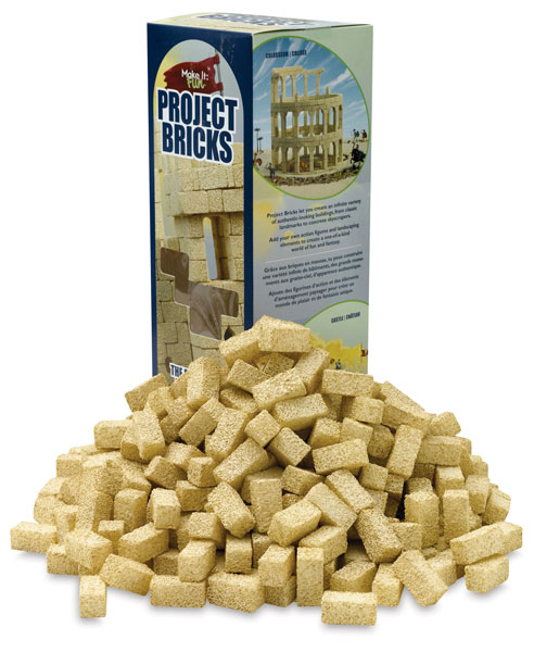 Styrofoam Project Bricks