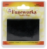 Black Opalescent Glass, Pkg of 4