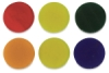 Color Variety Glass Circles