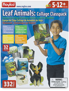 Leaf Animals Collage Class Pack