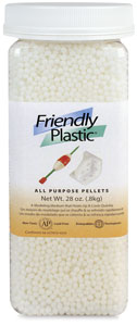 Friendly Plastic Pellets, 28 oz Jar
