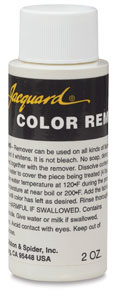 Jacquard color remover
