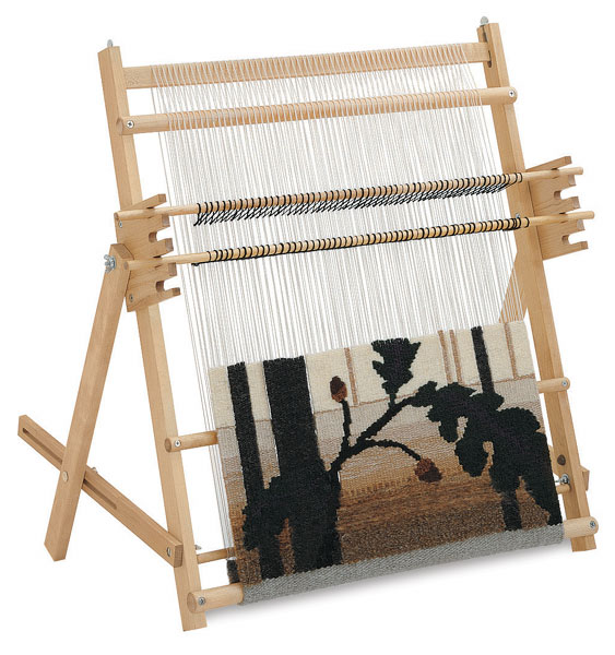 Portable Tapestry Loom with Optional A-Frame Stand