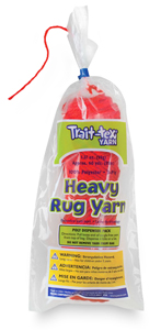 Trait-Tex Heavy Polyester Rug Yarn