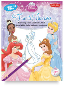 Learn to Draw Disney: Favorite Princesses