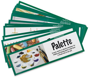 Art Display Cards, Drawing and Painting Tools