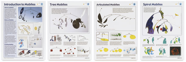 Mobiles Teaching Posters, Set of 4