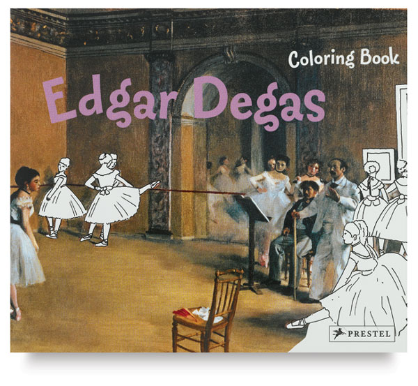 Edgar Degas Coloring Book
