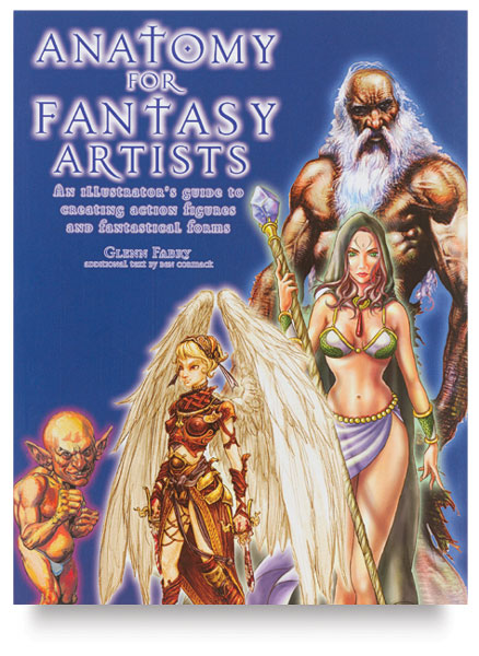 Anatomy For Fantasy Artists Book