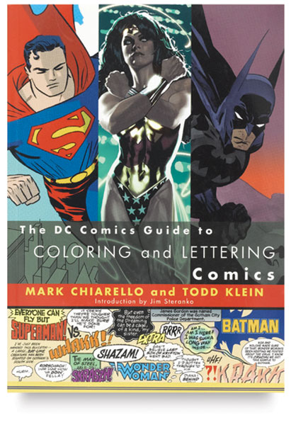 Coloring and Lettering Comics