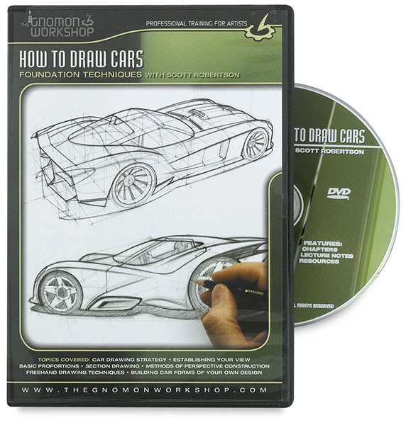 How to Draw Cars:Foundation Techniques with Scott Robertson