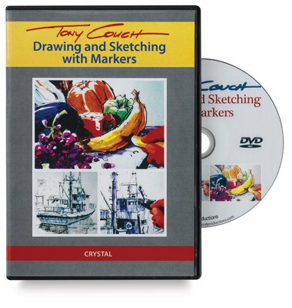 Tony Couch: Drawing & Sketching with Markers