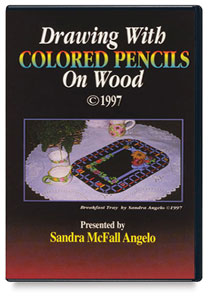 Drawing with Colored Pencils on Wood