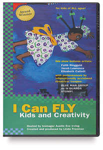 I Can Fly: Kids & Creativity, DVD
