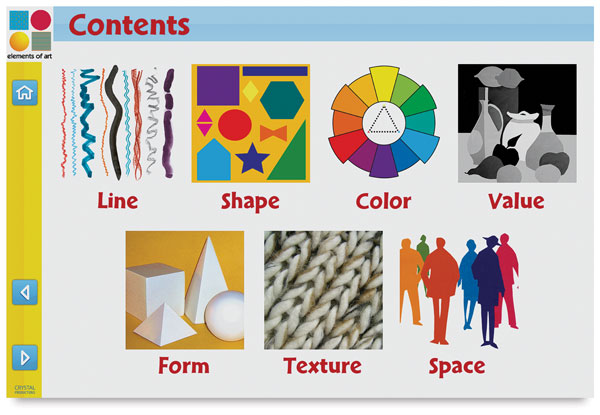 Elements of Art, Example of Included Material