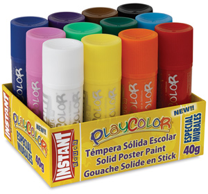 Playcolor Tempera Paint Sticks Image 1574