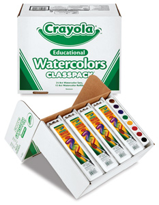 Crayola Educational Watercolor Pan Sets Picture 714
