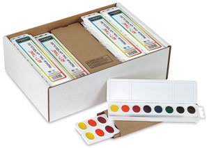 Sargent Premium Watercolor Pan Sets Image 733