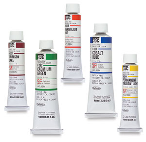 Holbein Artists Oil Colors Photo