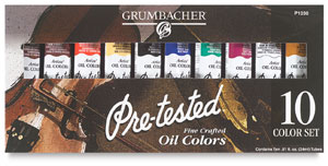 Grumbacher Pre Tested Oil Sets Image 118