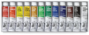 Holbein Duo Aqua Water Soluble Oils Photo