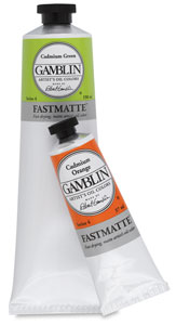 Gamblin Fastmatte Alkyd Oil Colors Photo