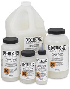 Golden Acrylic Polymer Varnishes Image 1328