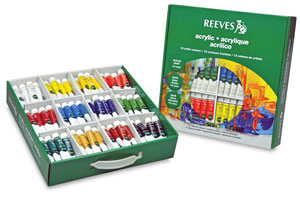 Reeves Acrylic Painting Sets Photo