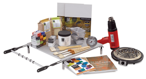 R F Encaustic Paint Studio Startup Set Photo