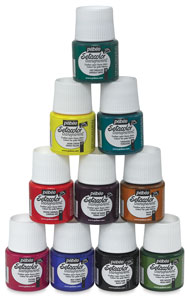 Pebeo Setacolor Fabric Paint Mediums
