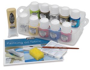 Pebeo Setacolor Fabric Paint Mediums Photo