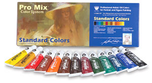 John Howard Sanden Standard Oil Color Set Photo