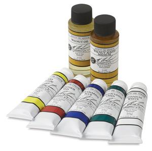 M Graham Artists Oil Colors Image 2165