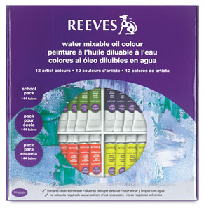 Reeves Water Mixable Oil Color Sets Photo