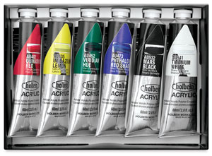 Holbein Heavy Body Artist Acrylics Photo