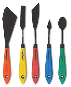 Blick Multi Colored Painting Knife Set Image 2481
