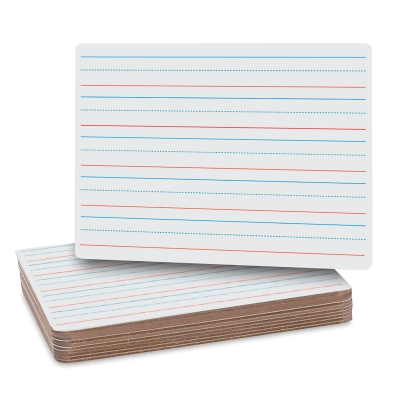 Flipside Two Sided Lined Dry Erase Boards