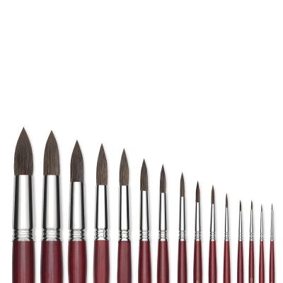 Blick Master Synthetic Kolinsky Round Brushes Photo
