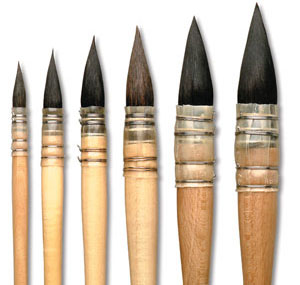 Paintbrushes For Watercolors How To Buy The Right
