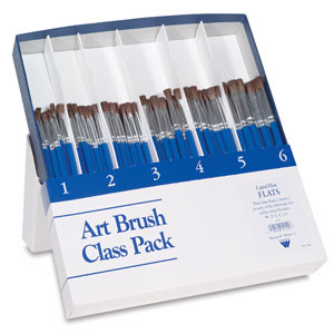 Weber Art Brush Class Packs Photo