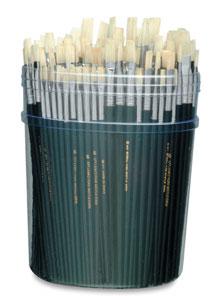 Basic Flat Bristle Brushes