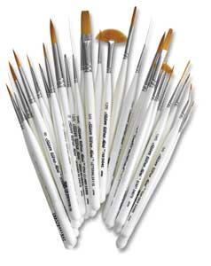 Silver Brush Ultra Mini Brush Sets Photo