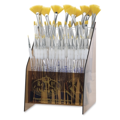Royal Langnickel Soft Grip Golden Taklon Brush Sets Image 1006